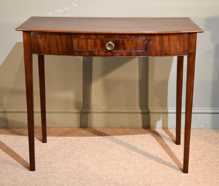 Antiker Mahagoni Beistelltisch Konsolentisch britisch ca 1810