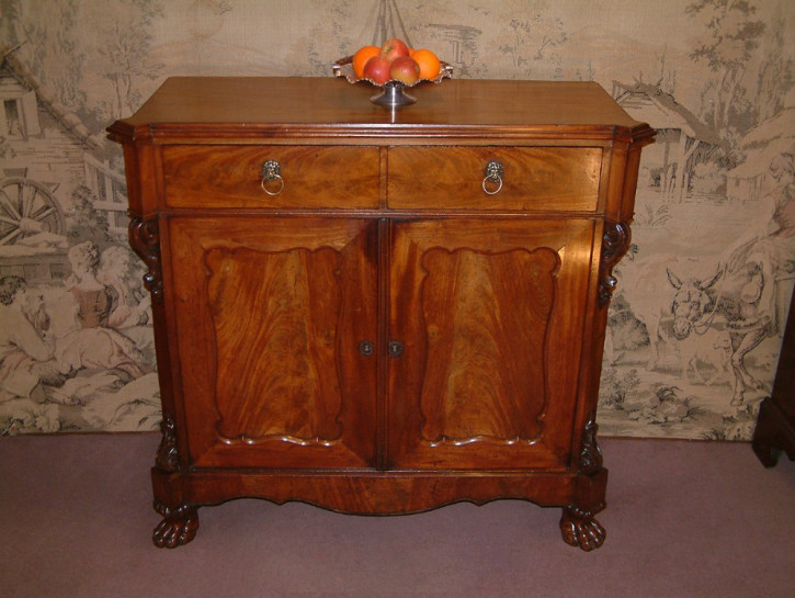 Antikes britisches Mahagoni Sideboard ca 19. Jh