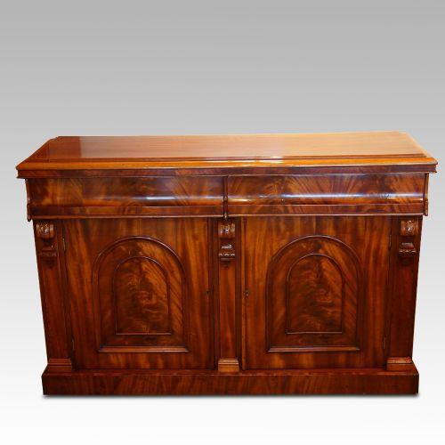 Viktorianisches antikes Mahagoni Sideboard ca 1880