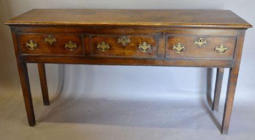 Antikes viktorianisches Sideboard Eiche englisch ca 1860