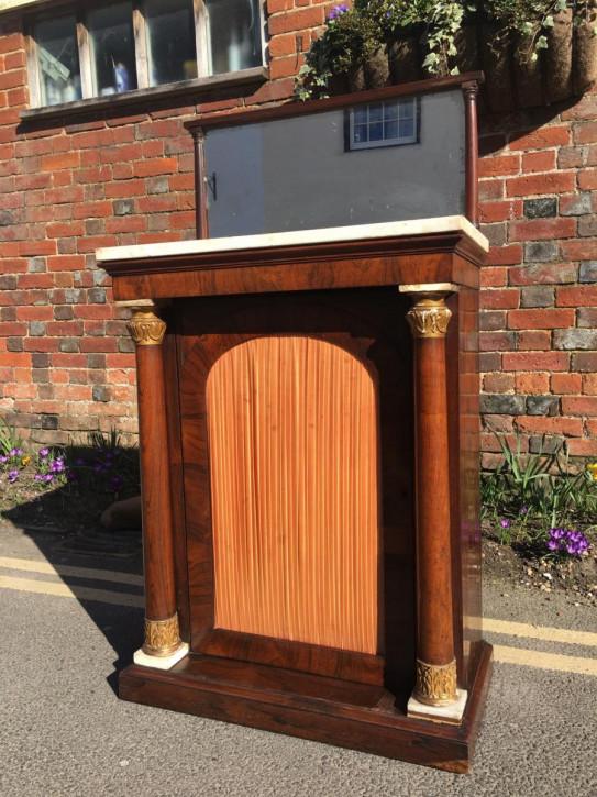 Antikes britisches Palisander Sideboard ca 18. Jh