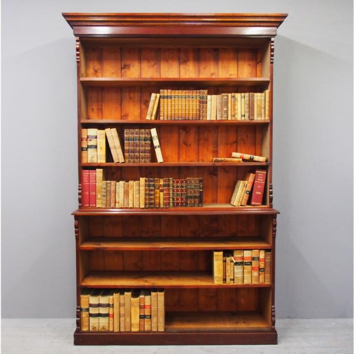Viktorianisches antikes Bücherregal englisch ca 1890