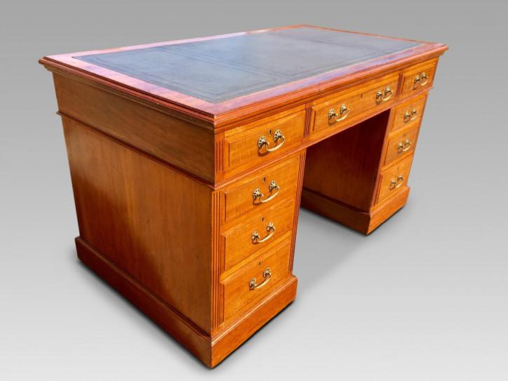 Englischer Antiker Mahagoni Schreibtisch ca. 1880