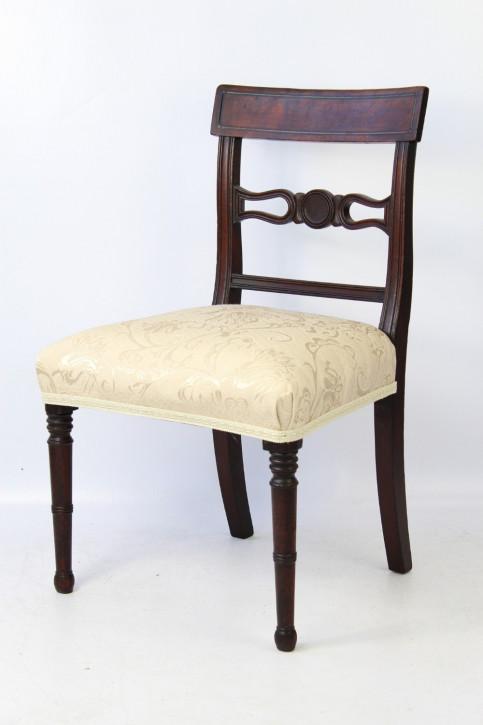 Antiker britischer Regency Stuhl Mahagoni ca 1810
