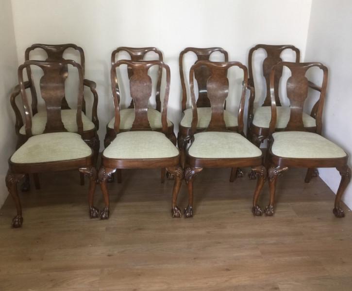 Antike britische Mahagoni Stühle ca 1920