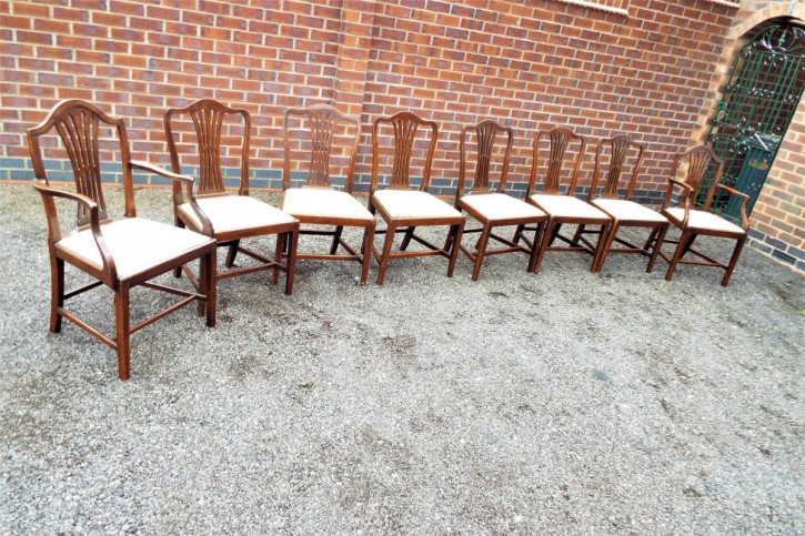 Antike  Massive Mahagoni Stühle britisch stil  ca 1780