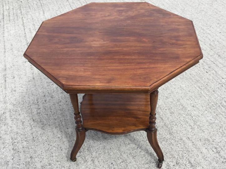 Antiker britischer Massivholz Tisch ca 1890
