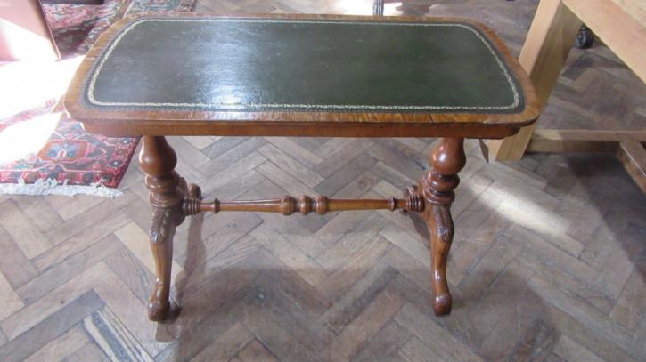 Viktorianischer antiker Eichen Schreibtisch englisch ca 1880