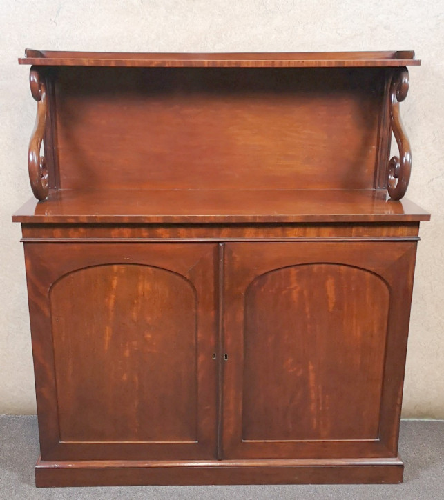 Viktorianisches antikes Sideboard Mahagoni britisch ca 19. Jh