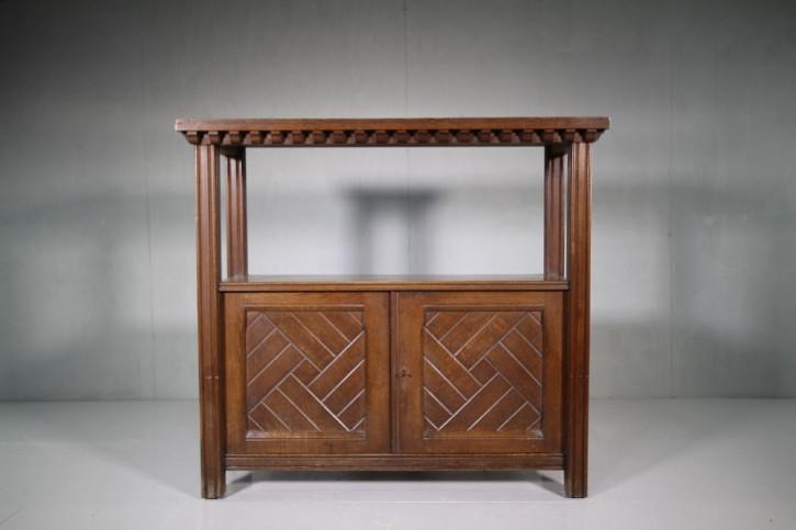 Englisches antikes Eichen Sideboard ca 1870