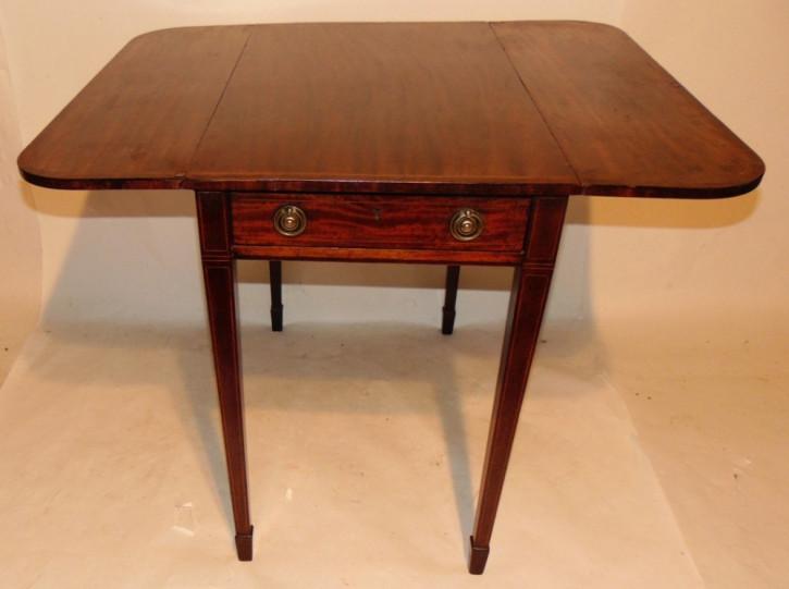 Georgianischer Mahagoni Pembroke Tisch ca. 1790