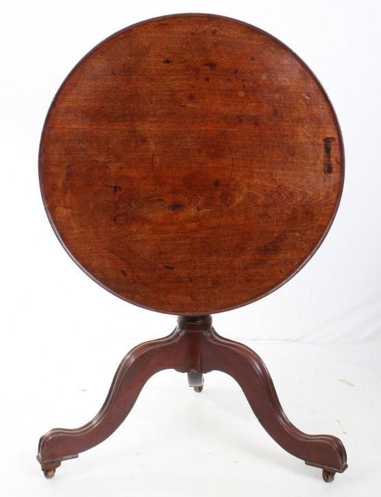 Beistelltisch Mahagoni ca. 1750