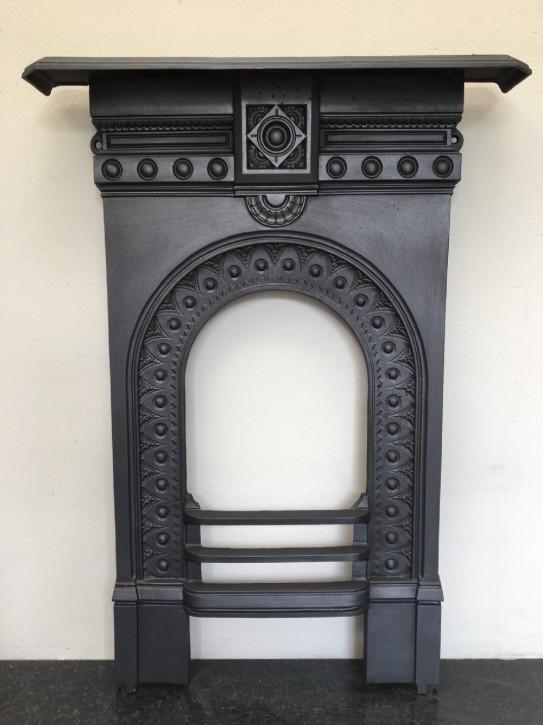 Viktorianischer Schlafzimmer Gusseisen Kamin
