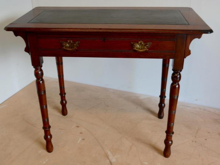Viktorianischer Mahagoni Ladys Desk Schreibtisch antik ca 1880