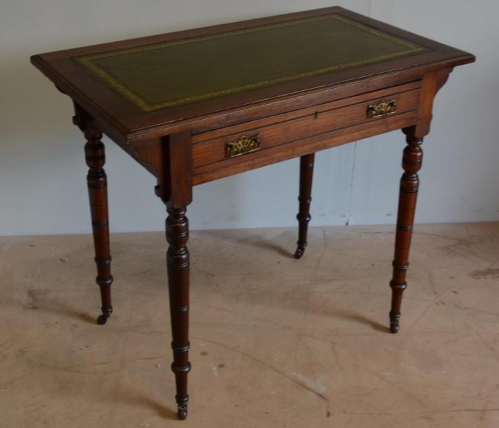 Walnuss Schreibtisch Antik Masivholz ladies desk viktorianisch ca. 1880