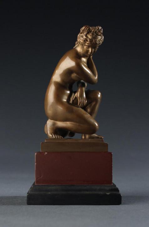 Bronzestatue Figur der Venus, Göttin der Liebe, Italienisch Antik ca. 1880