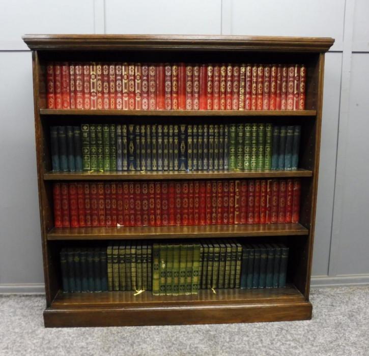 Edwardian Bücherschrank antik Massivholzschrank aus Eiche, ca. 1900