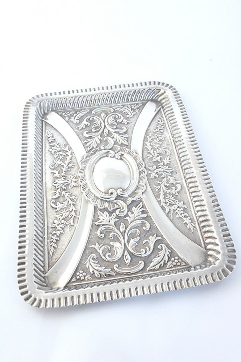Antikes Sterling Silber Frisiertisch Tablett sterling silver dressing table tray edwardianisch ca 1902