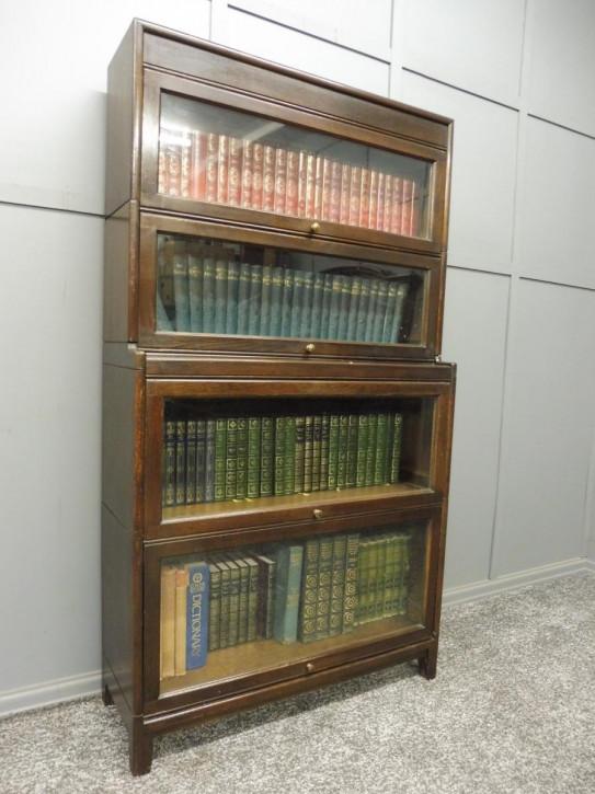 Gunn Lawyers Bücherregal Eiche antik