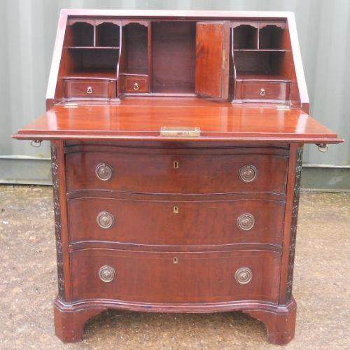 Kleines georgianisches Mahagoni-Schreibbüro