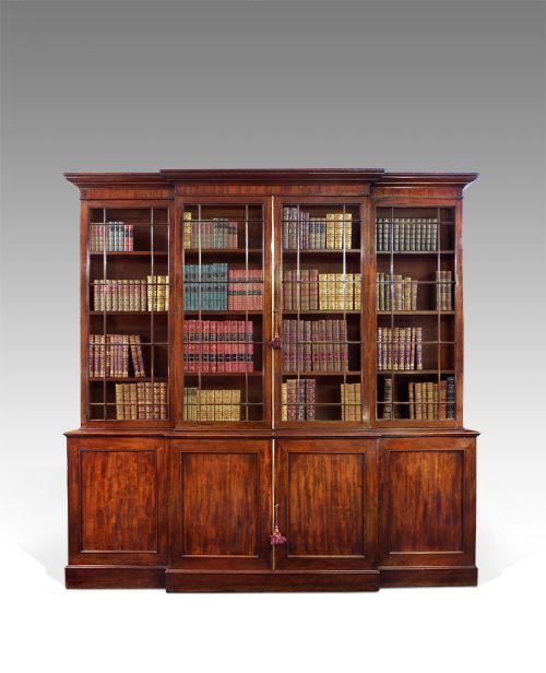 georgianisches Bücherregal, Bibliothek ,