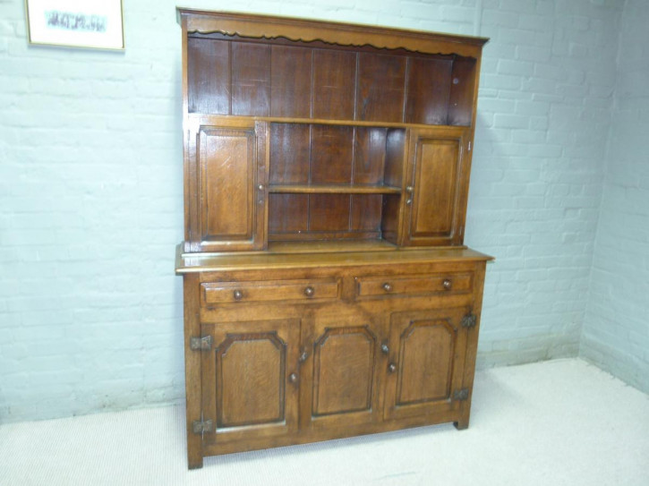 Sideboard Dresser Eiche antike Massivholzkommode ca. 1920