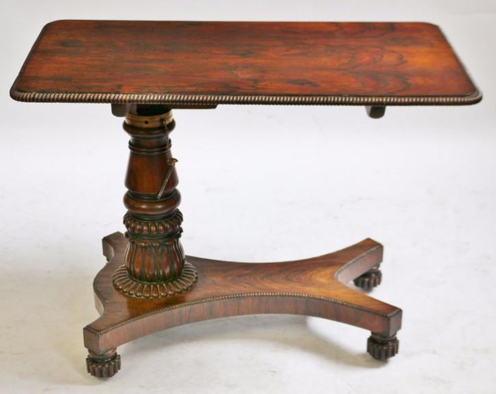 Regency Palisander Nachttisch Massivholz antik ca 1810