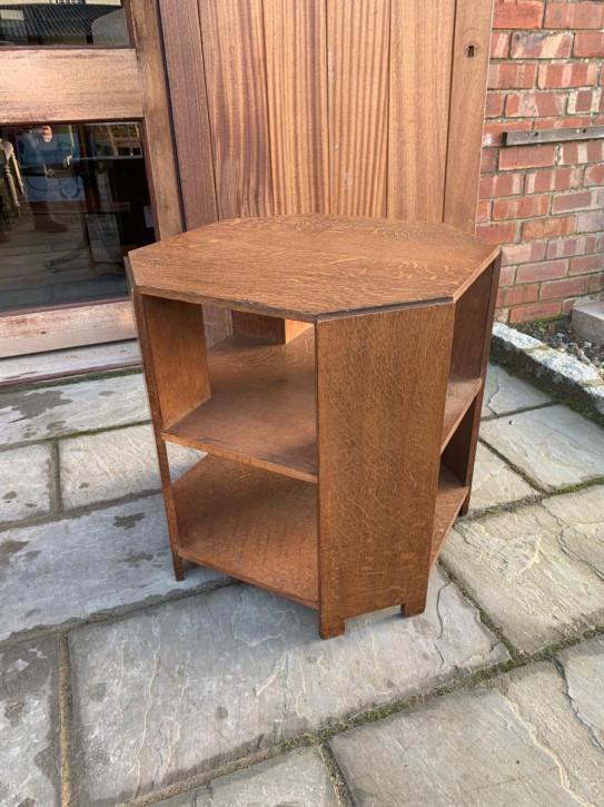 Antiker Heals Eichenbuchtisch aus Massivholz