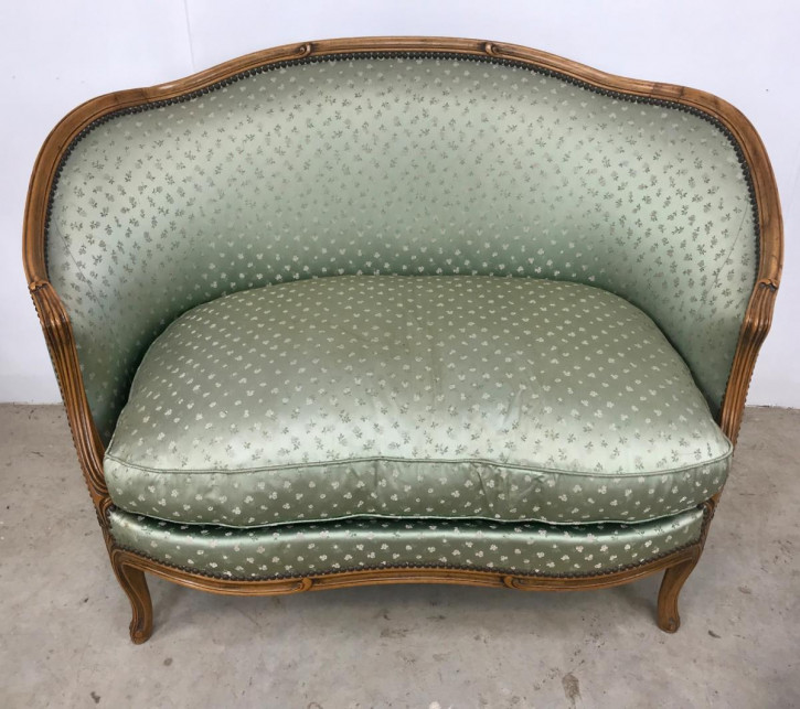 Kleines Sofa französisch antik Canapé ca. 1900