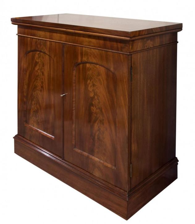Viktorianisches Mahagoni Sideboard Massivholz antik ca 1870