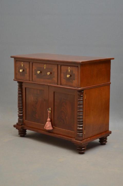 Kleines Chiffonier Mahagoni Sideboard antik Regentschaft ca. 1820