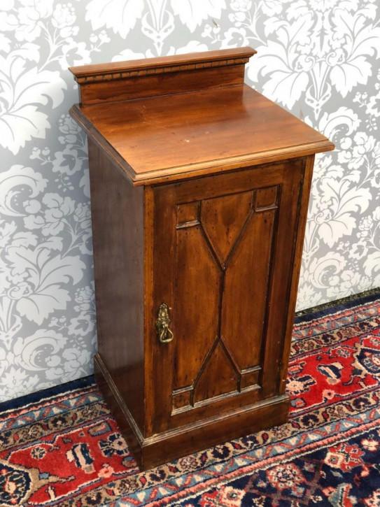 Antik Nachttisch Mahagoni kleiner Massivholzschrank antik ca. 1880