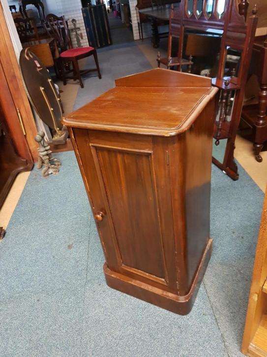 Nachttisch Schrank antik Mahagoni kleiner Massivholzschrank Bettzimmer ca. 1880