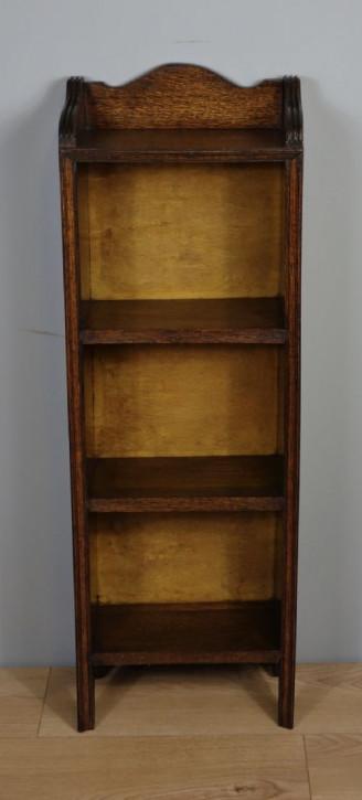 Schmales antikes Eichenbücherregal , 1920