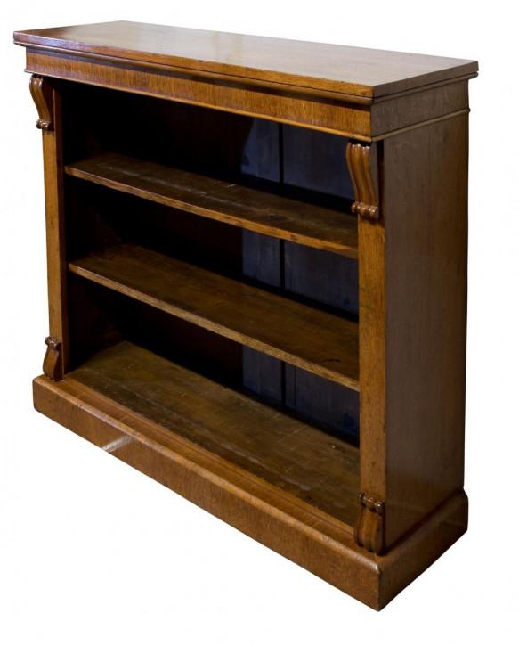 Eichen Bücherregal Massivholz antik 19. Jahrhundert