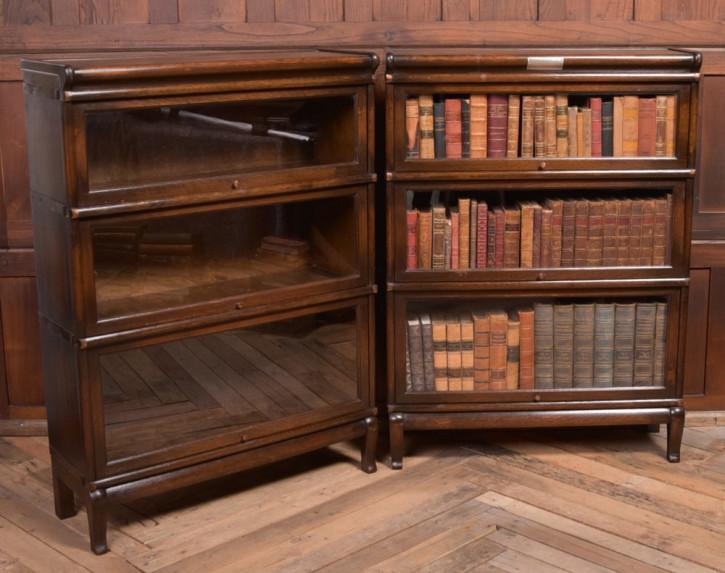 Bücherschränke Globe Wernicke Eiche Massivholz antik 1910