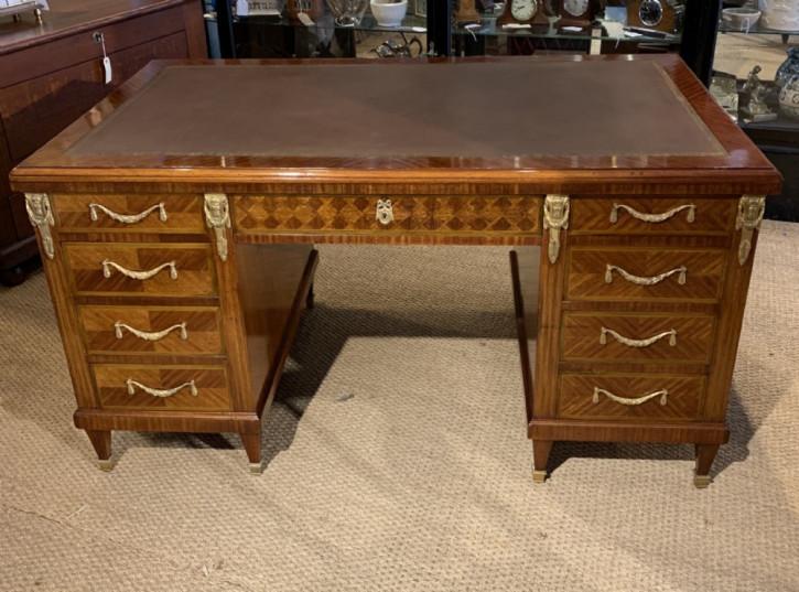 Antiker Massivholz Schreibtisch ca1900
