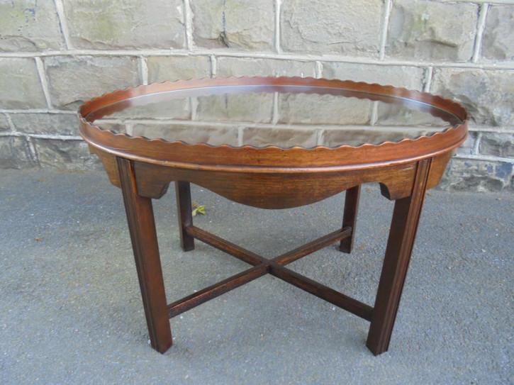 Antiker Coffee Table aus Mahagoni