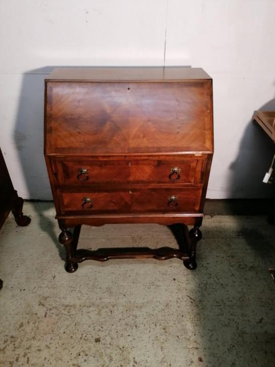 Schreibbüro Sekretär antik Nussbaum ca. 1930