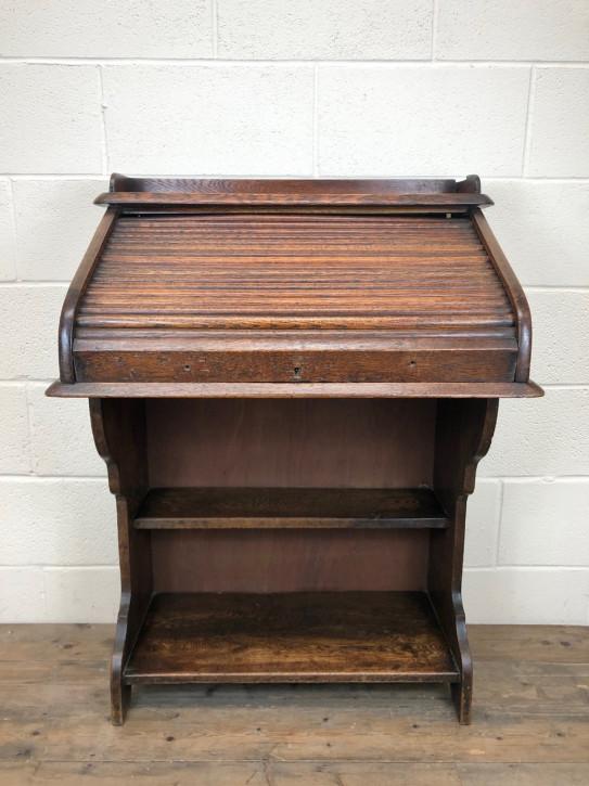 Schreibtisch Eiche antik Rolltop desk ca. 1930