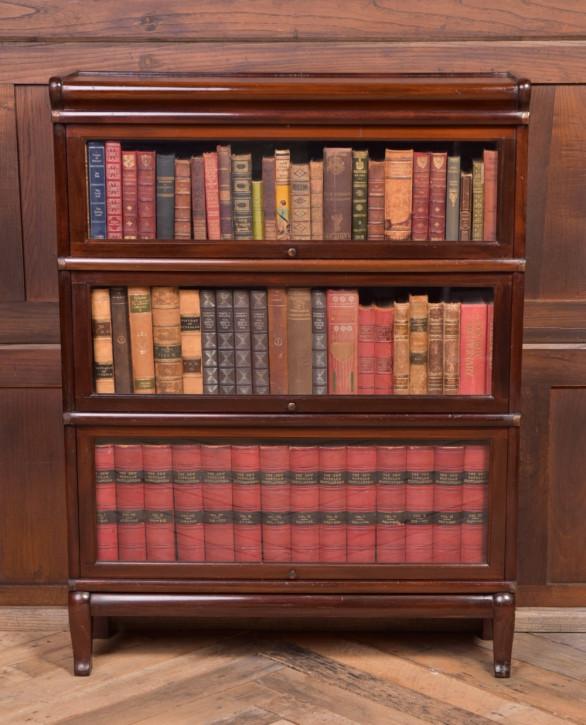Edwardiansiches globe wernicke Bücherregal aus Mahagoni