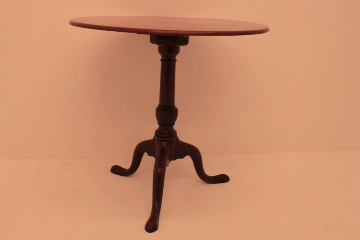 Antiker Weintisch / Wine Table aus Mahagoni, georgianisch, ca. 1800