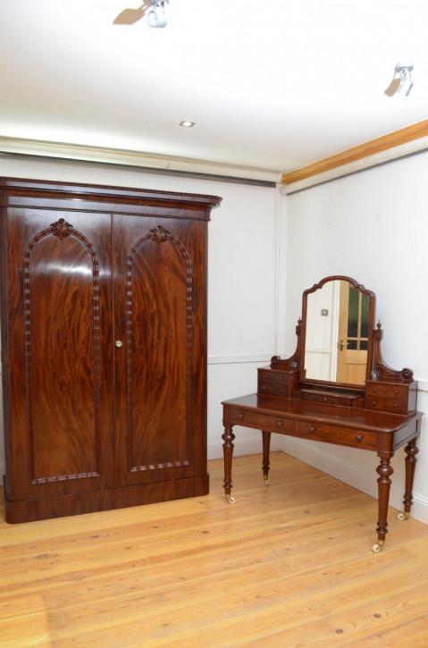 Antikes viktorianisches Schlafzimmer-Set aus Mahagoni