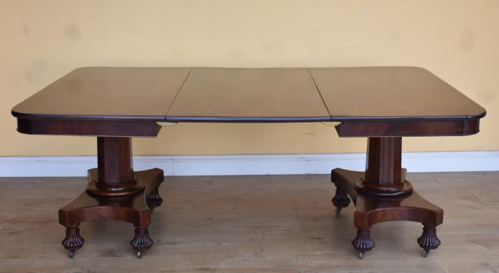Premium! Antiker Mahagoni Esstisch aus dem 19. Jahrhundert im regency Stil