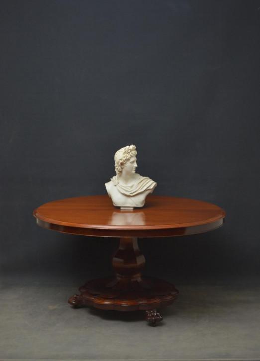 Premium! Anntiker viktorianischer Mitteltisch / Esstisch aus Mahagoni