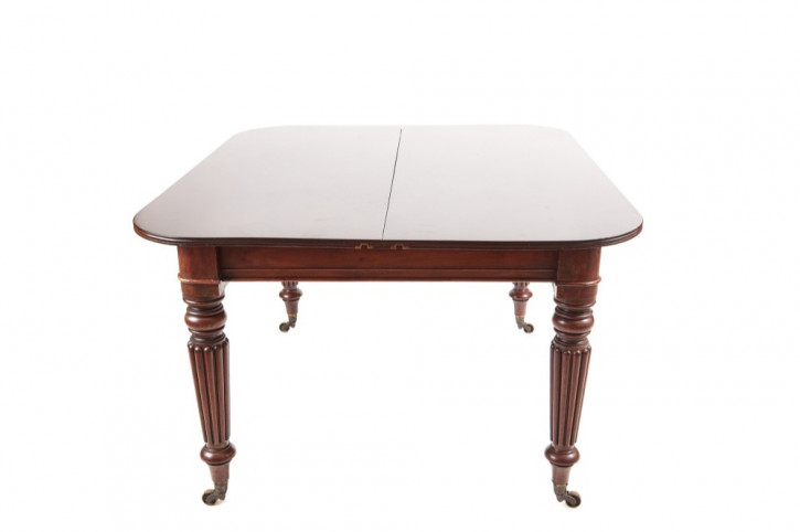 Antiker ausziehbarer Mahagoni Esstisch von ausgezeichnete Qualität aus der Zeit von William IV um 1835
