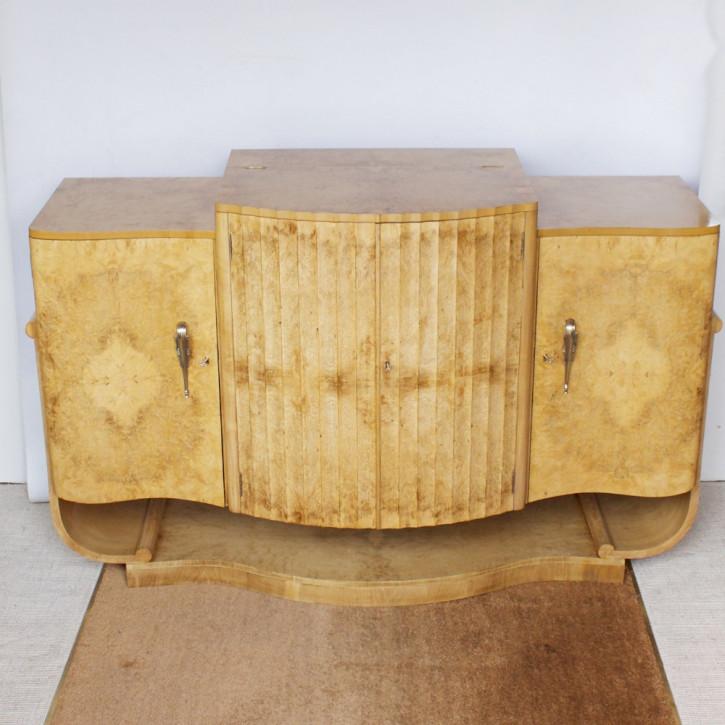 Antikes Art-Deco Sideboard/Kommode von Harry & Lou Epstein