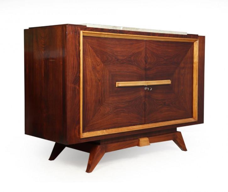 Antikes französisches Art-Deco-Sideboard c1930