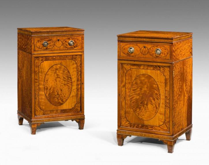 Premium! Antikes Paar Satinholzschränke aus der Zeit von George III