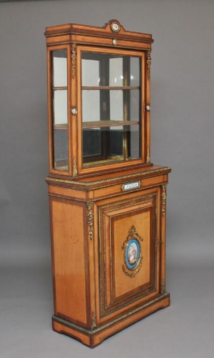 Premium! Antiker Schrank aus Satinholz und Palisander aus dem 19. Jahrhundert